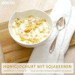 Honigjoghurt mit Sojakernen
