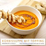 Kürbissuppe mit Topping