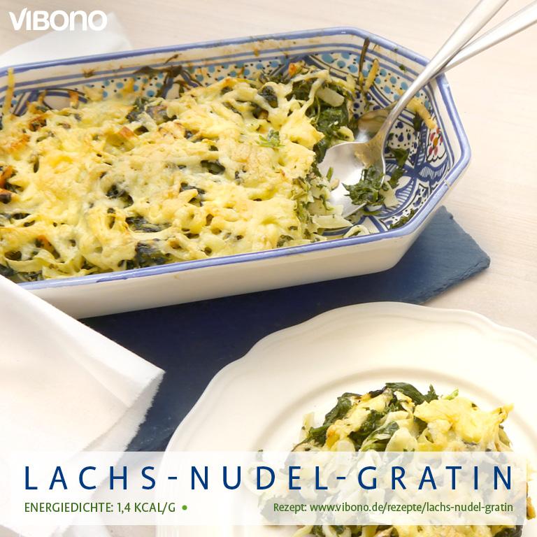 Lachs-Nudel-Gratin