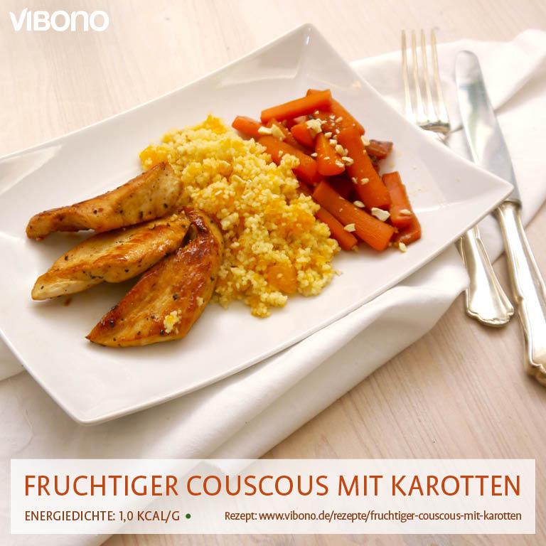 Fruchtiger Couscous mit Karotten