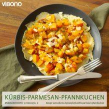 Kürbis-Parmesan-Pfannkuchen