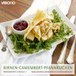 Birnen-Camembert-Pfannkuchen
