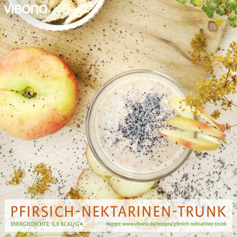 Pfirsich-Nektarinen-Trunk