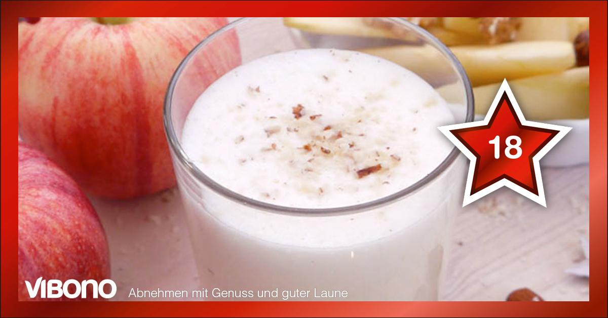 Apfel, Nuss und Mandelkern, ich hab diesen Shake so gern!