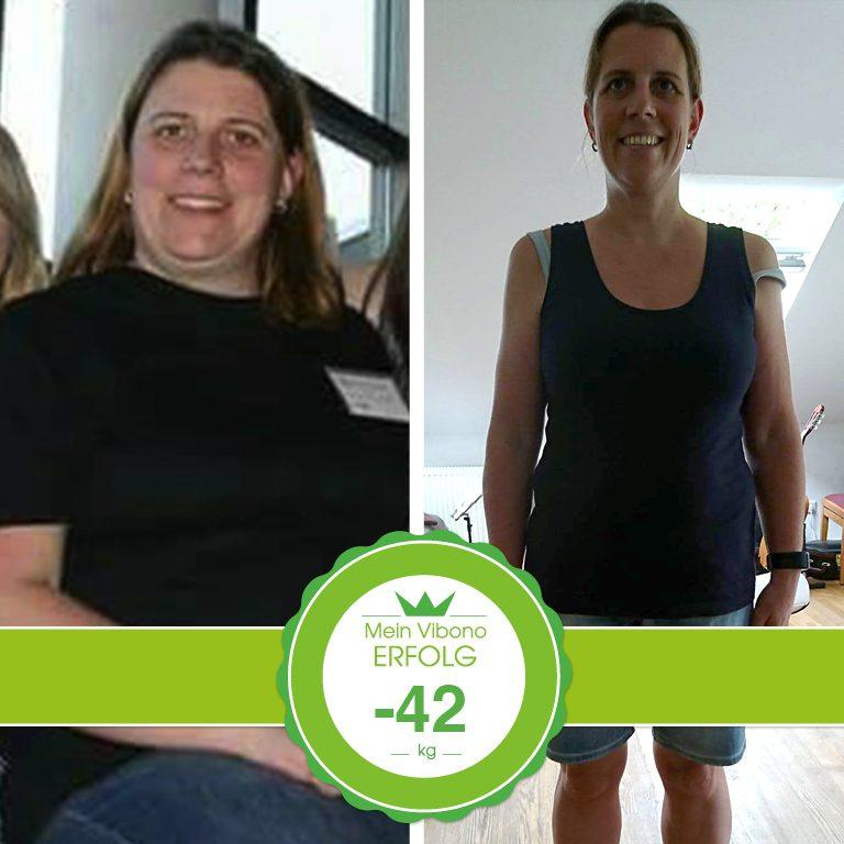Minus 42 kg in 33 Monaten