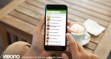 Die Suche in der Vibono-App