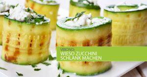 Wieso Zucchini schlank und Käsebrote dick machen