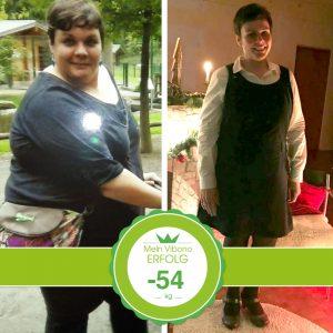 Unglaubliche 54-Kilo-Abnahme