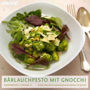 Gnocchi mit Bärlauchpesto