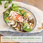 Orient-Bowl mit Sesamdressing