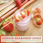 Erdbeer-Rhabarber-Shake