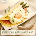 Spargel-Schinken-Pfannkuchen