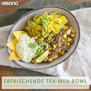 Erfrischende Tex-Mex-Bowl