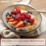 Fruchtiges Flocken-Frühstück