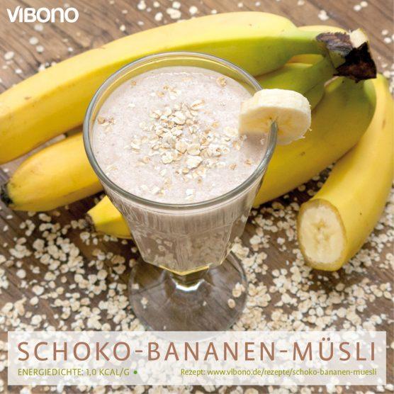 Schoko-Bananen-Müsli