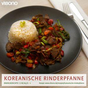 Koreanische Rinderpfanne