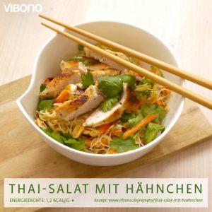 Thai-Salat mit Hähnchen