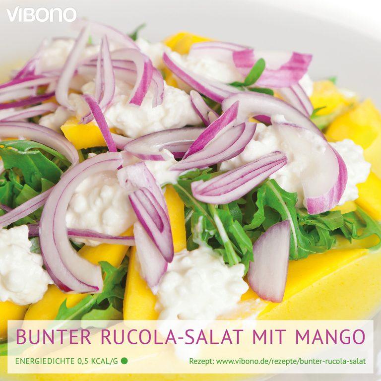 Bunter Rucola-Salat