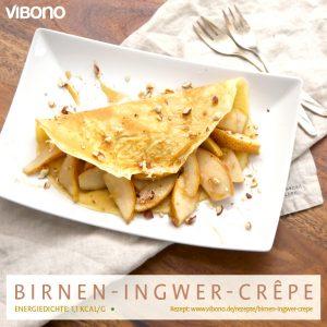 Birnen-Ingwer-Crêpe