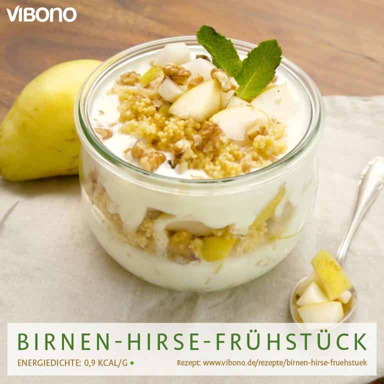 Hirse-Birnen-Frühstück