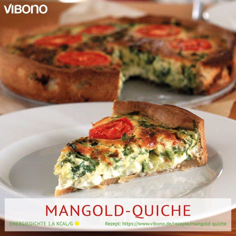 Mangold-Quiche