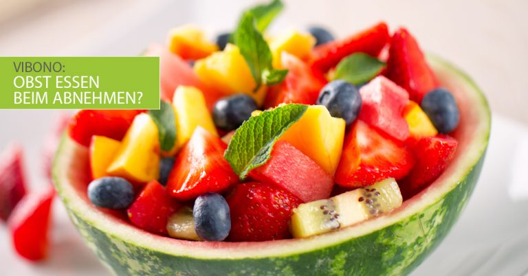Darf ich Obst essen, wenn ich abnehmen will?
