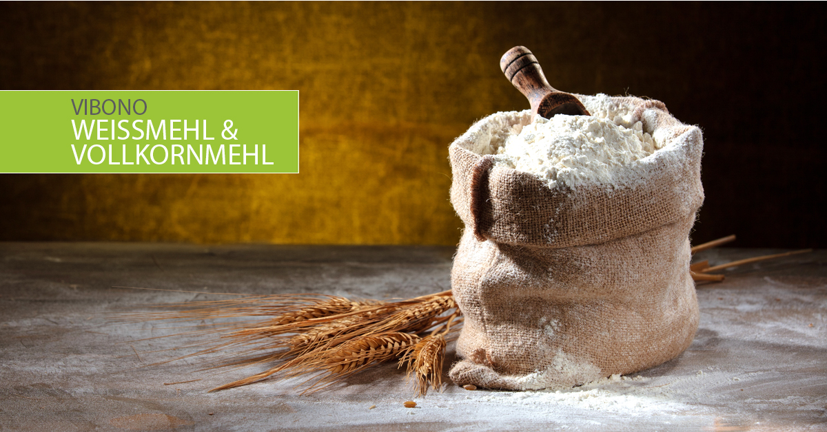 Weißmehl & Vollkornmehl