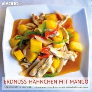 Erdnuss-Hähnchen mit Mango