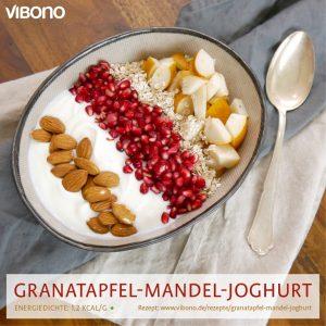 Granatapfel-Mandel-Joghurt