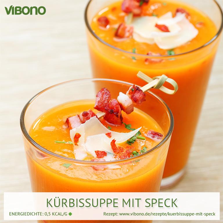 Kürbissuppe mit Speck