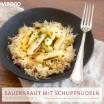 Sauerkraut mit Schupfnudeln