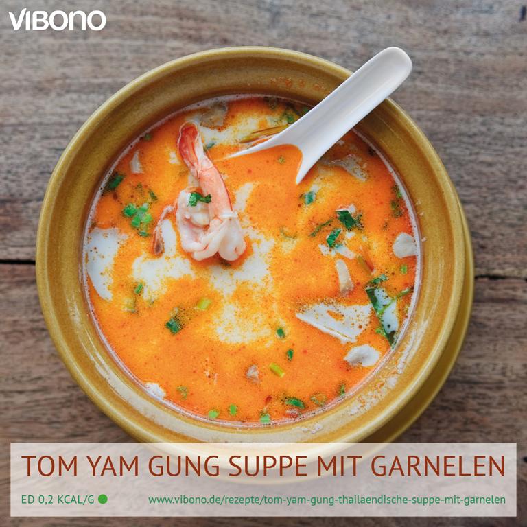 Tom Yam Gung (Thailändische Suppe mit Garnelen)