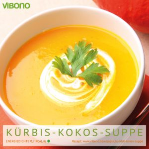 Kürbis-Kokos-Suppe