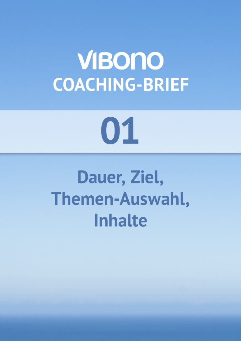 Coaching-Brief Nr. 1