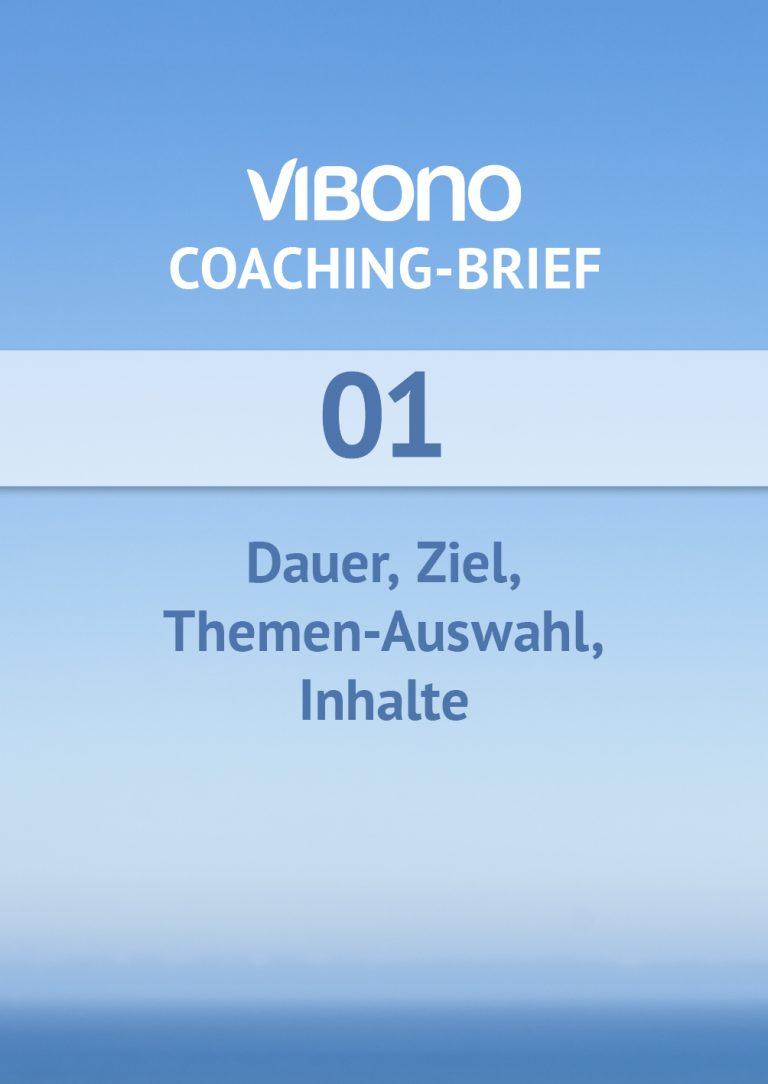 Coaching-Brief Nr. 1