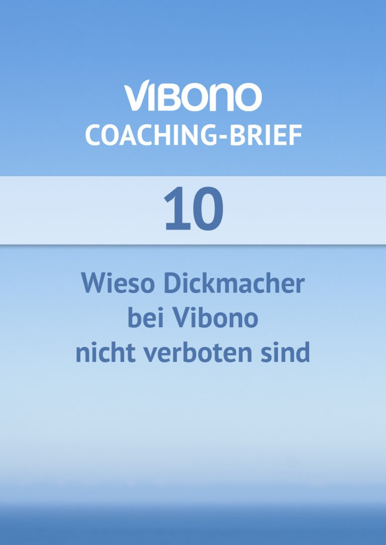 Coaching-Brief Nr. 10