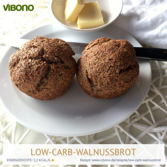 Low-Carb Walnussbrot/-brötchen