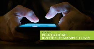 Vibono-Beiträge in Facebook-App komplett lesen