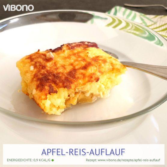 Apfel-Reis-Auflauf
