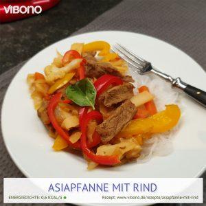 Asiapfanne mit Rind