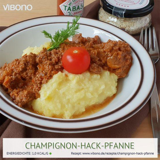 Champignon-Hack-Pfanne