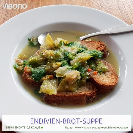 Endivien-Brot-Suppe