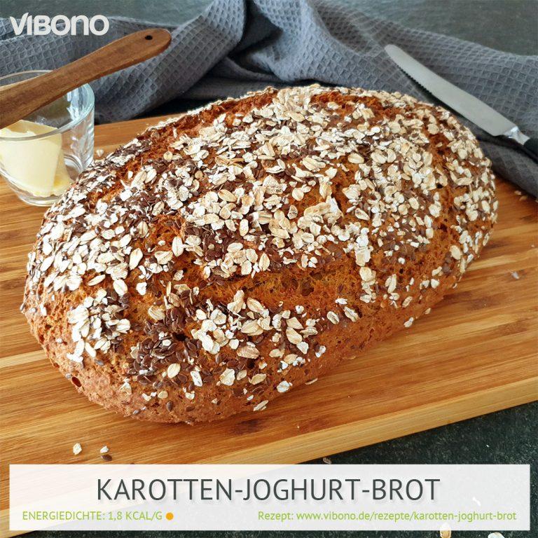 Karotten-Joghurt-Brot
