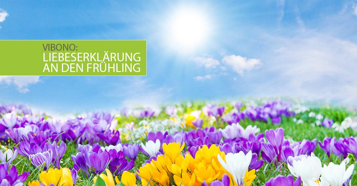 Liebeserklärung an den Frühling