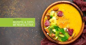 Rezepte und Tipps im Newsletter