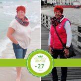 Minus 27 Kilo durch Ernährungsumstellung