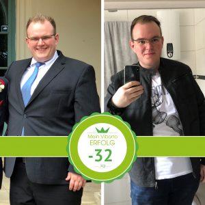 5 konkrete Maßnahmen: minus 32 kg
