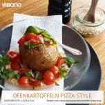 Ofenkartoffel Pizza-Style