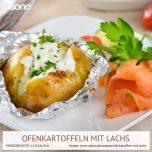 Ofenkartoffeln mit Lachs