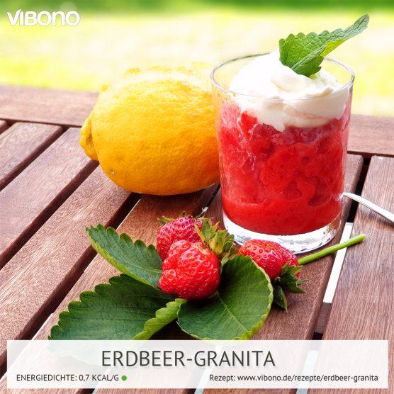Erdbeer-Granita
